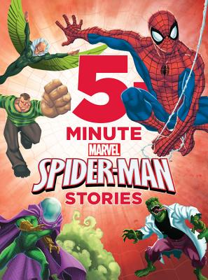 5-minute Spider-man Stories By Redding, Jennifer (CRT)